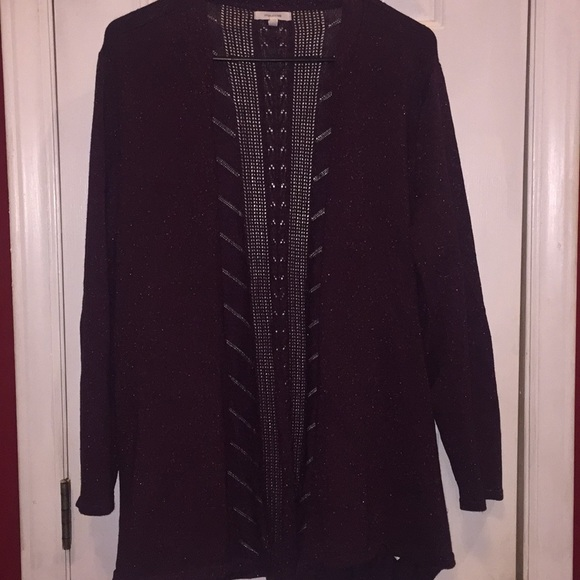 Maurices Sweaters - Maurices sparkly cardigan